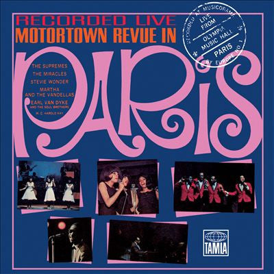 Various - Motortown Revue: Live In Paris-CD-South