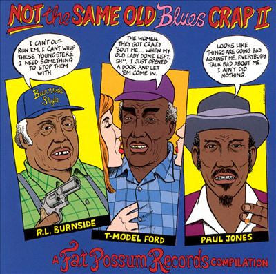 Various - Not The Same Old Blues Crap Vol.2-LP-South