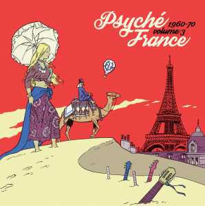 Various - Psyche France Vol.3-LP-South