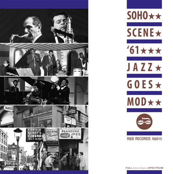 Various - Soho Scene 61: Jazz Goes Mod-LP-South