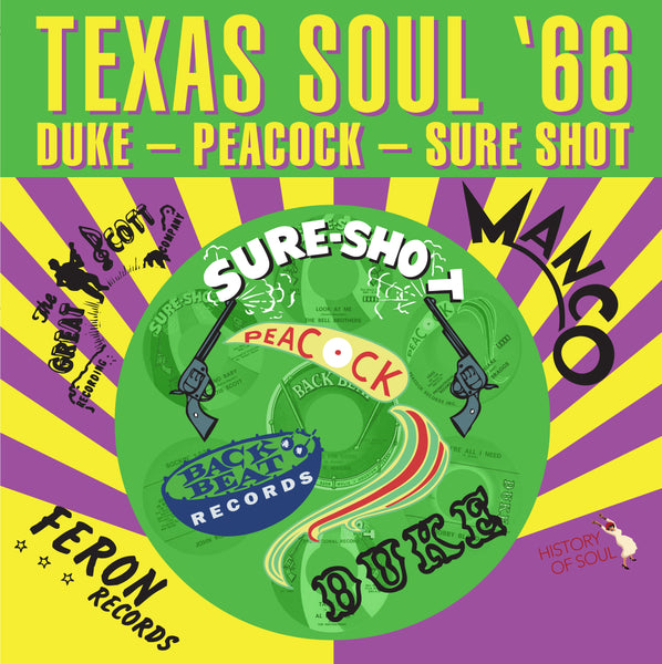 Various - Texas Soul 66-LP-South