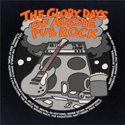 Various - The Glory Days Of Aussie Pub Rock-CD-South
