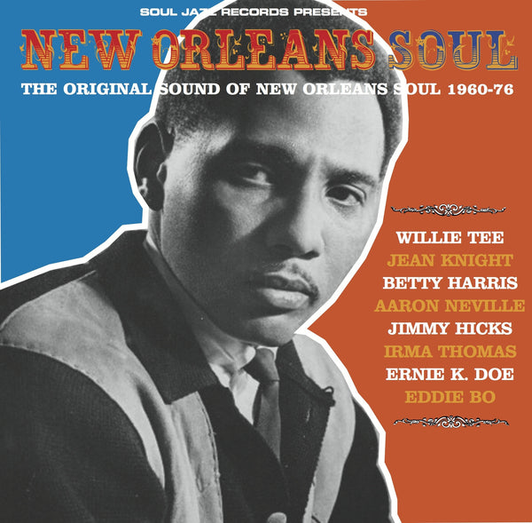 Various - The Original Sound of New Orleans Soul 1966-1976-CD-South