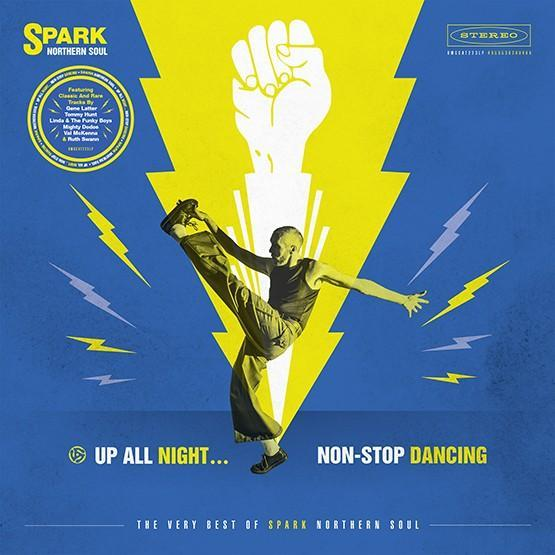 Various - Up All Night…Non-Stop Dancing: The Very Best of Spark Northern Soul-LP-South