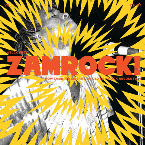 Various - Welcome To Zamrock Vol.1-LP-South
