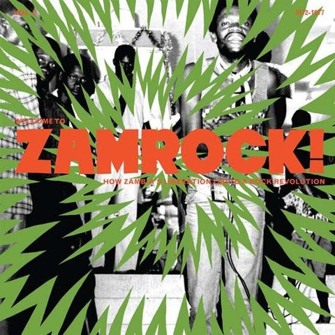Various - Welcome To Zamrock Vol.2-LP-South