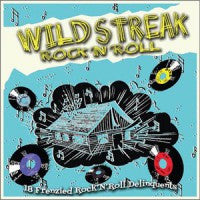 Various - Wild Streak Rock n' Roll-Vinyl LP-South