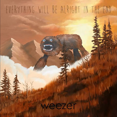 Weezer - Everything Will Be Alright In The End-CD-South
