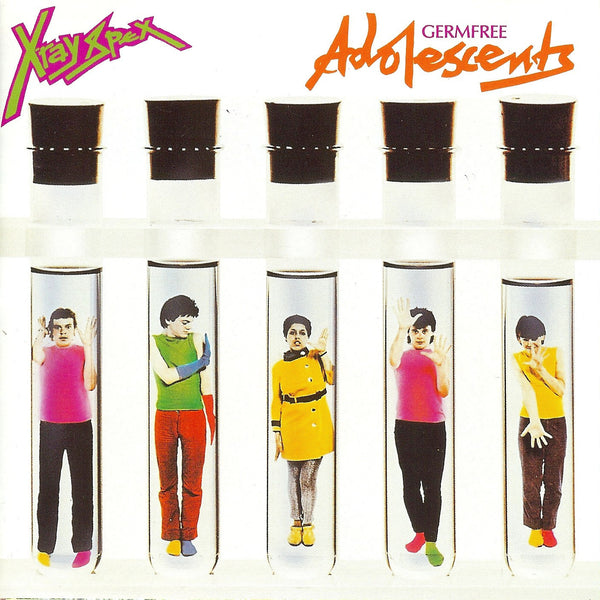 X-Ray Spex - Germ Free Adolescents-LP-South