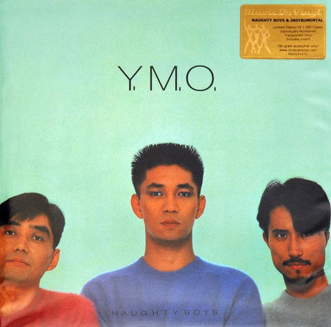 Yellow Magic Orchestra -Naughty Boys & Instrumental-LP-South