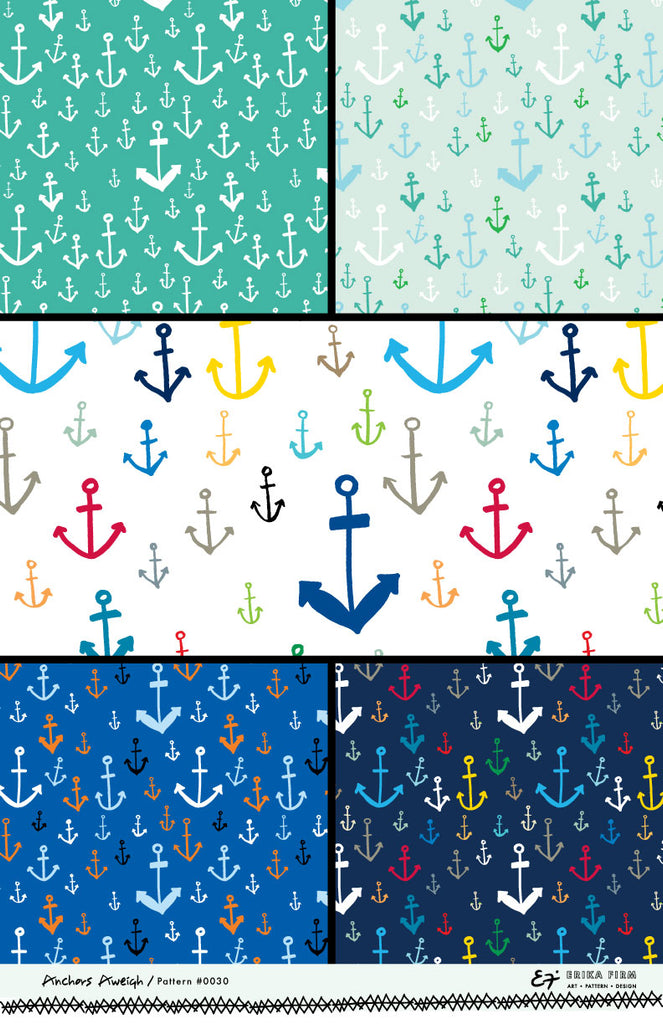 ANCHORS AWEIGH Pattern 0030