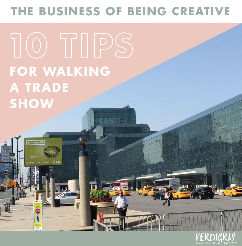 10 Tips for Walking a Trade Show