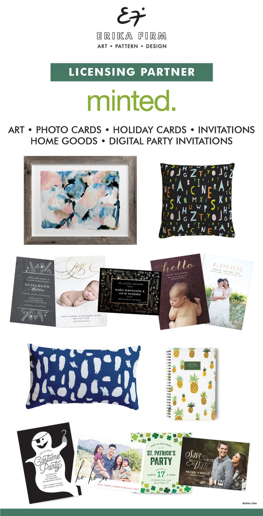 Partnership with Minted