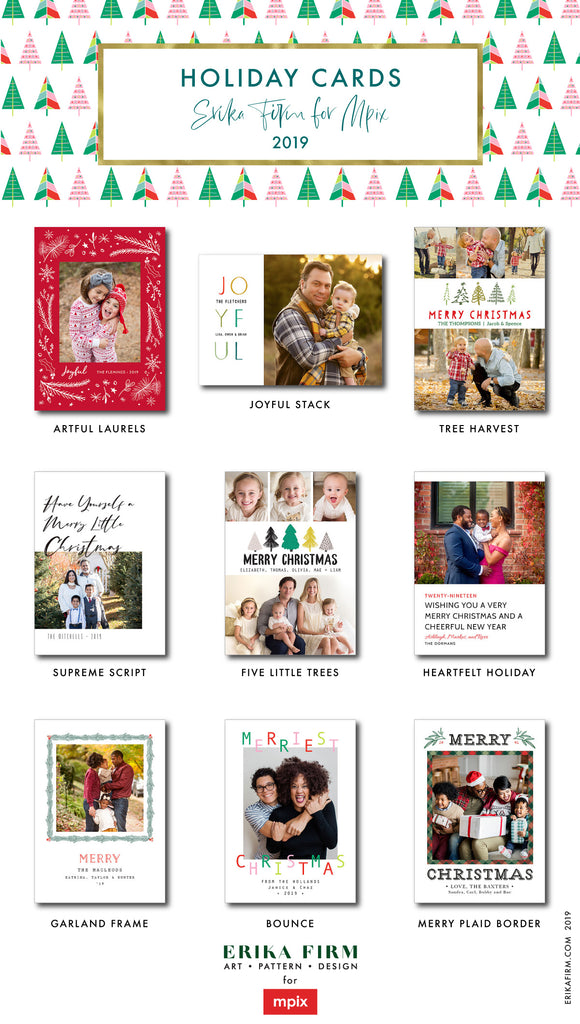 Christmas Photo Card Collection for MPIX 2019
