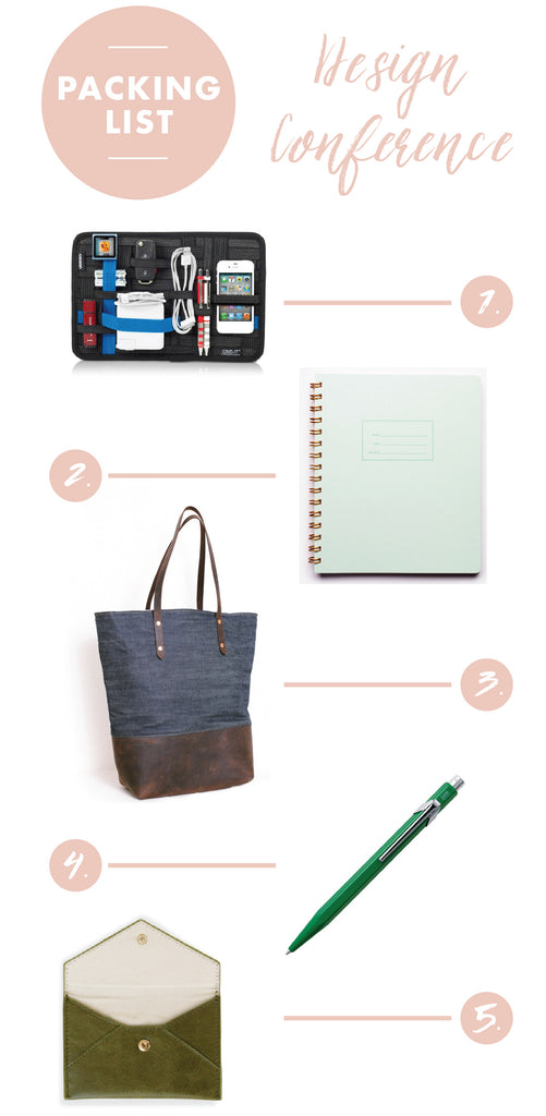 Design Conference Packing List