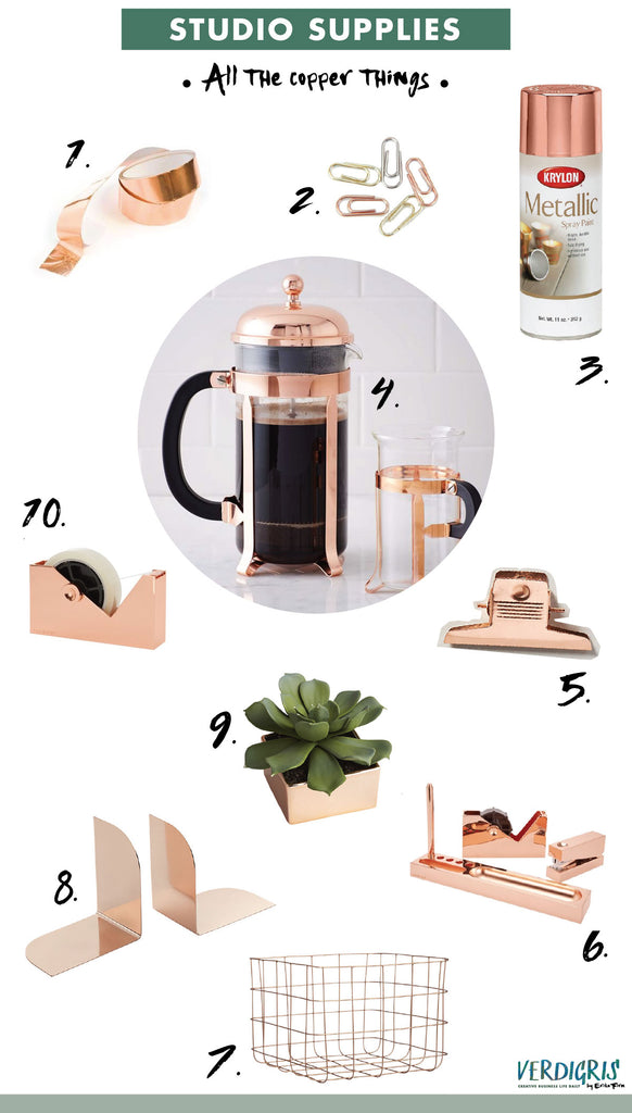 Wish List | Copper Office Supplies