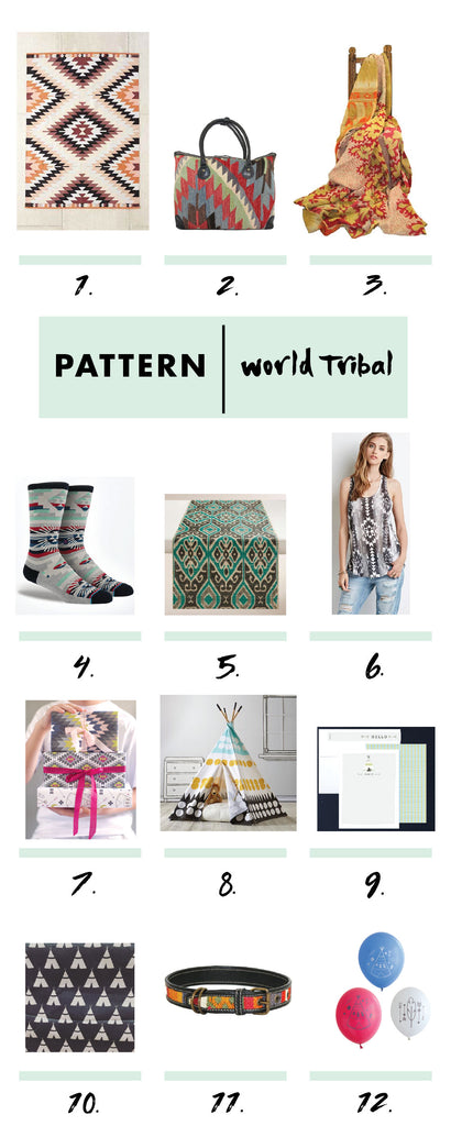 World Tribal Patterns