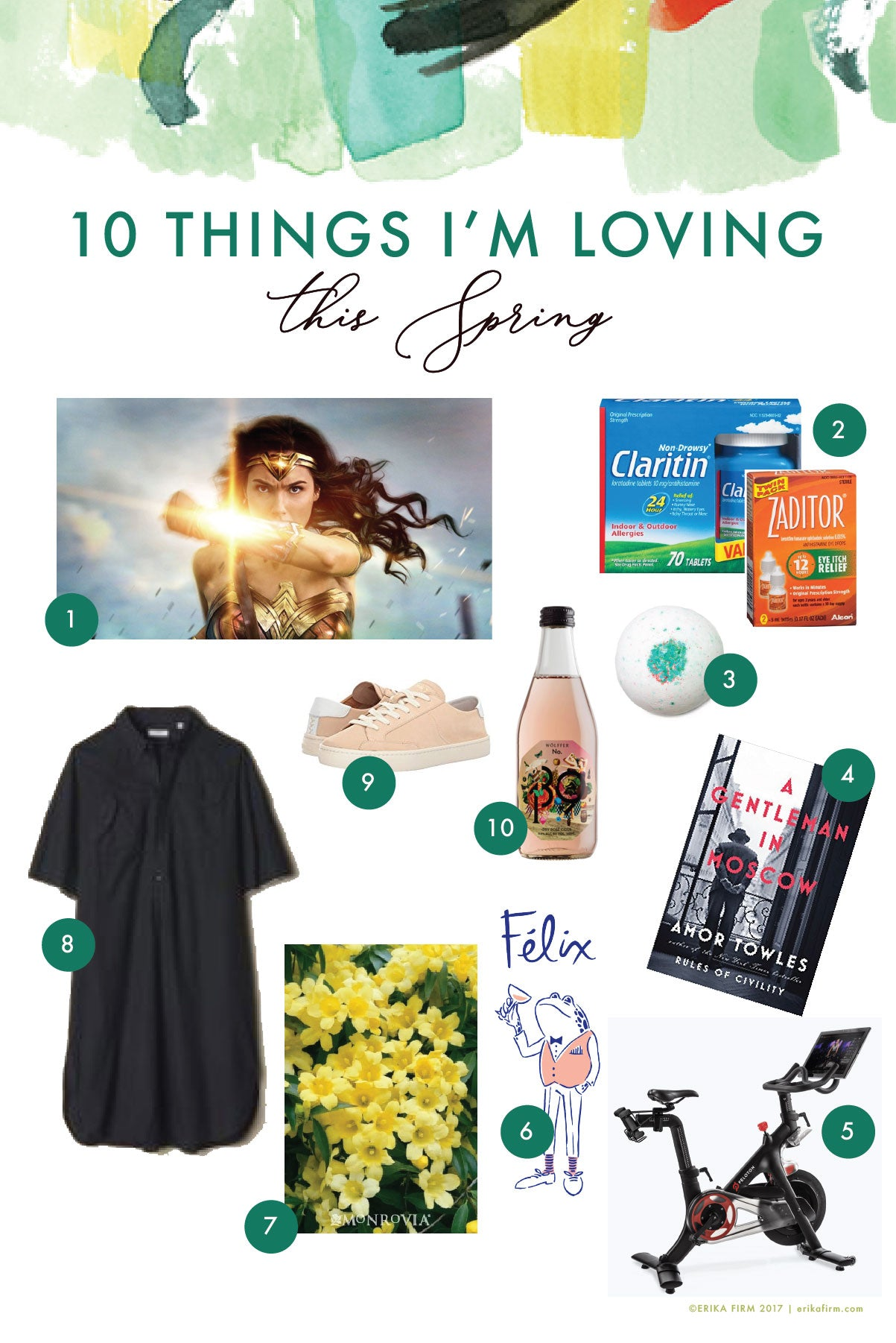 10 Things I Love for Spring by Erika Firm