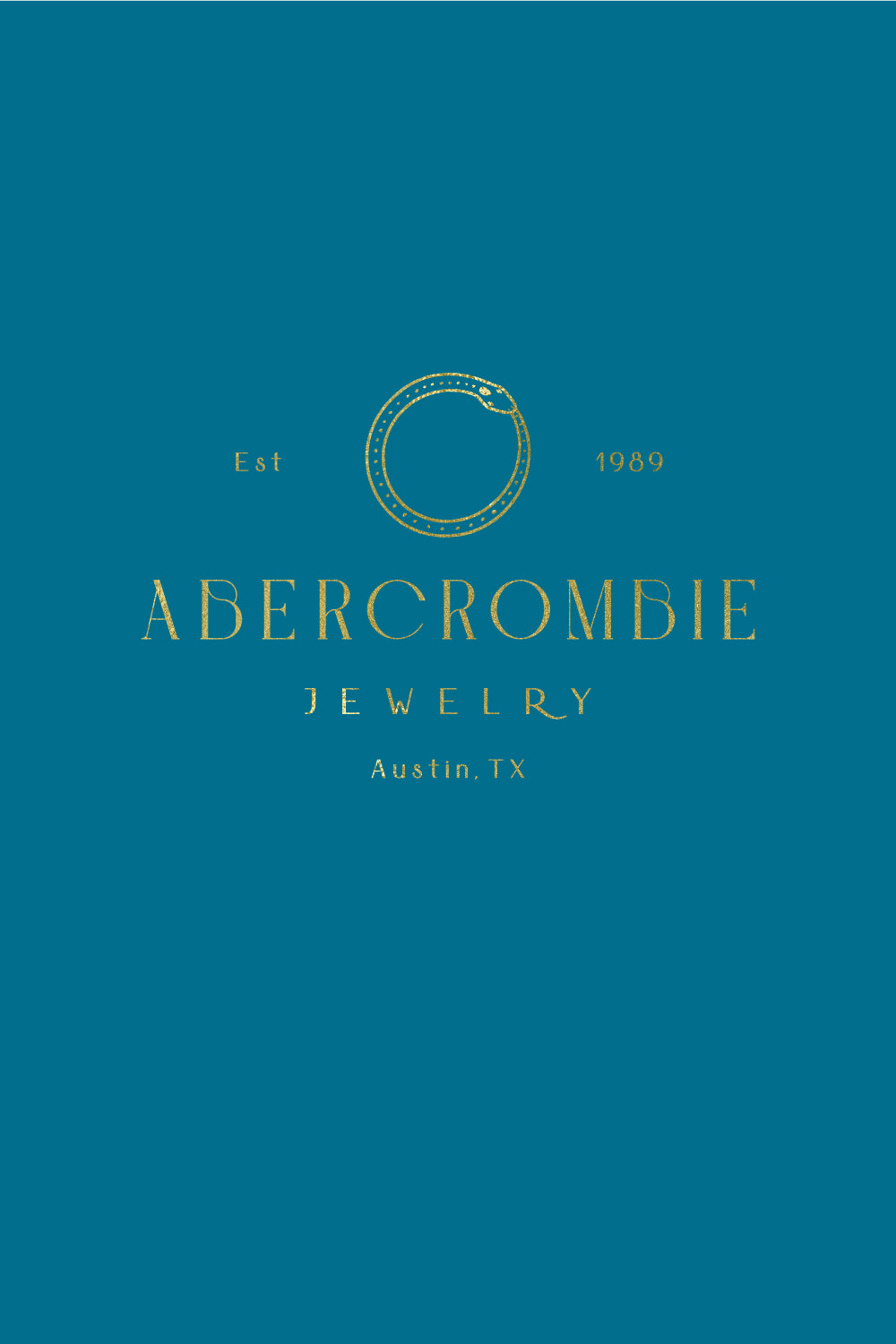 Abercrombie Jewelry Logo and Branding by Erika Firm