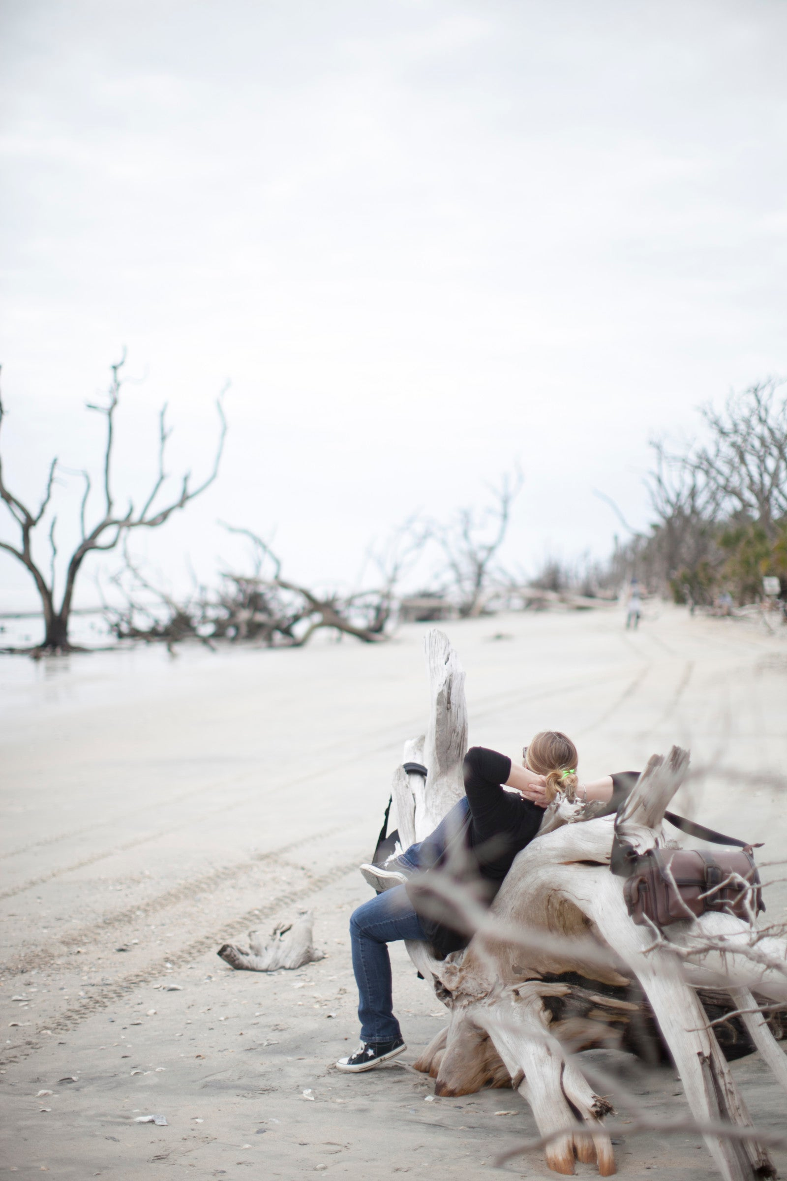 Erika Firm at Botany Bay on Edisto Island, SC photo by Zoomworks Photography