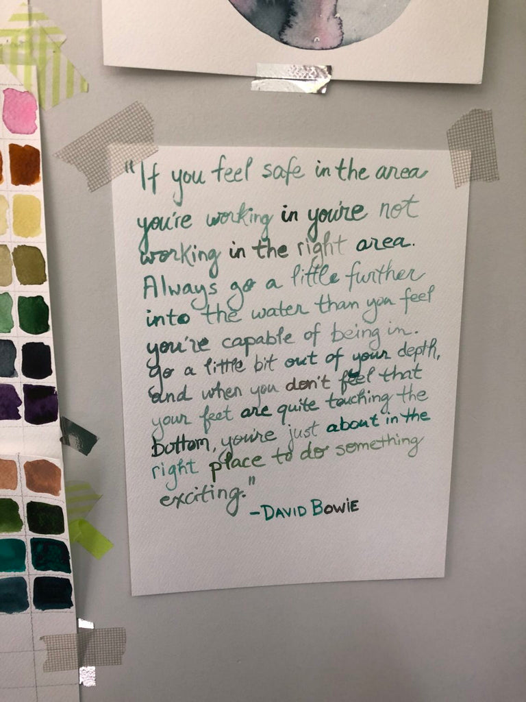David Bowie Quote If you feel safe