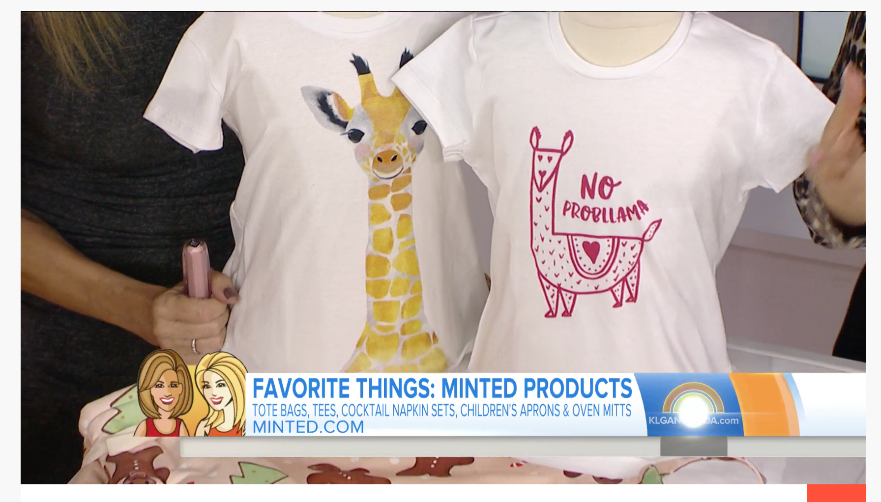 Kids Llama T-shirt by Erika Firm for Minted