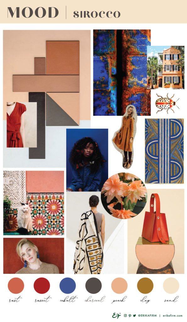 Mood Board Sirocco by Erika Firm