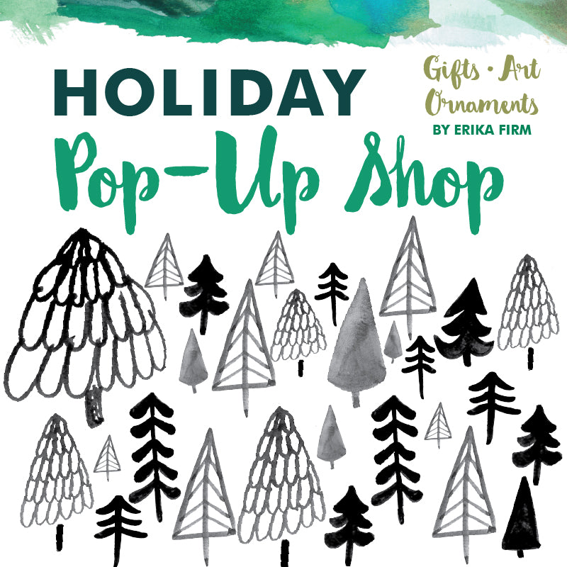 Holiday Pop-Up Shop featuring Erika Firm