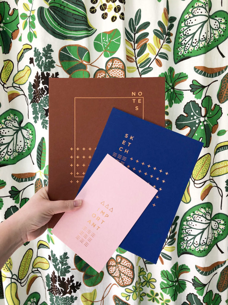 Revel Paper Notebook Covers by Erika Firm for Revel & Co. Colorado