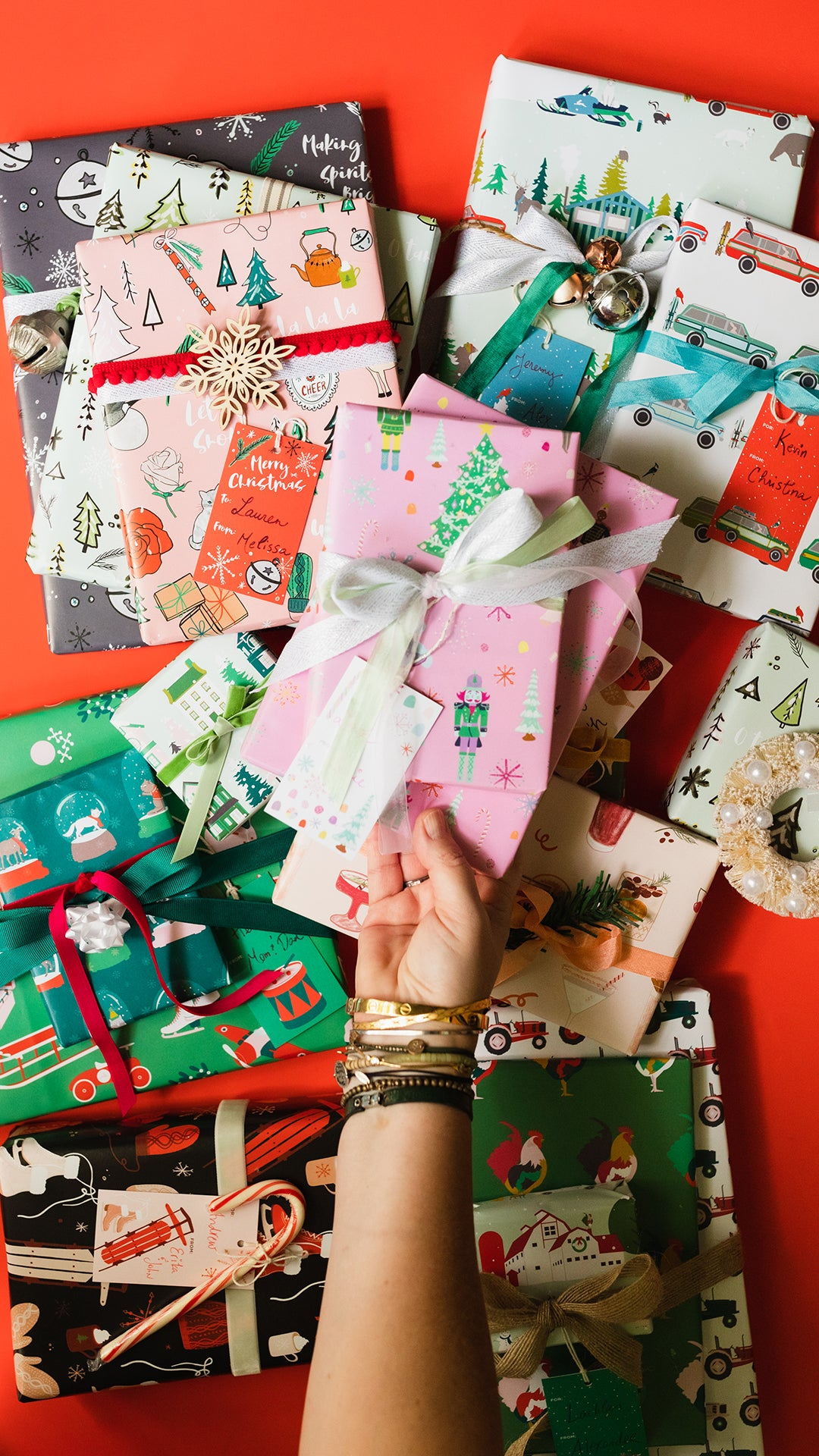 Revel and Co. Christmas wrapping paper collection 2019
