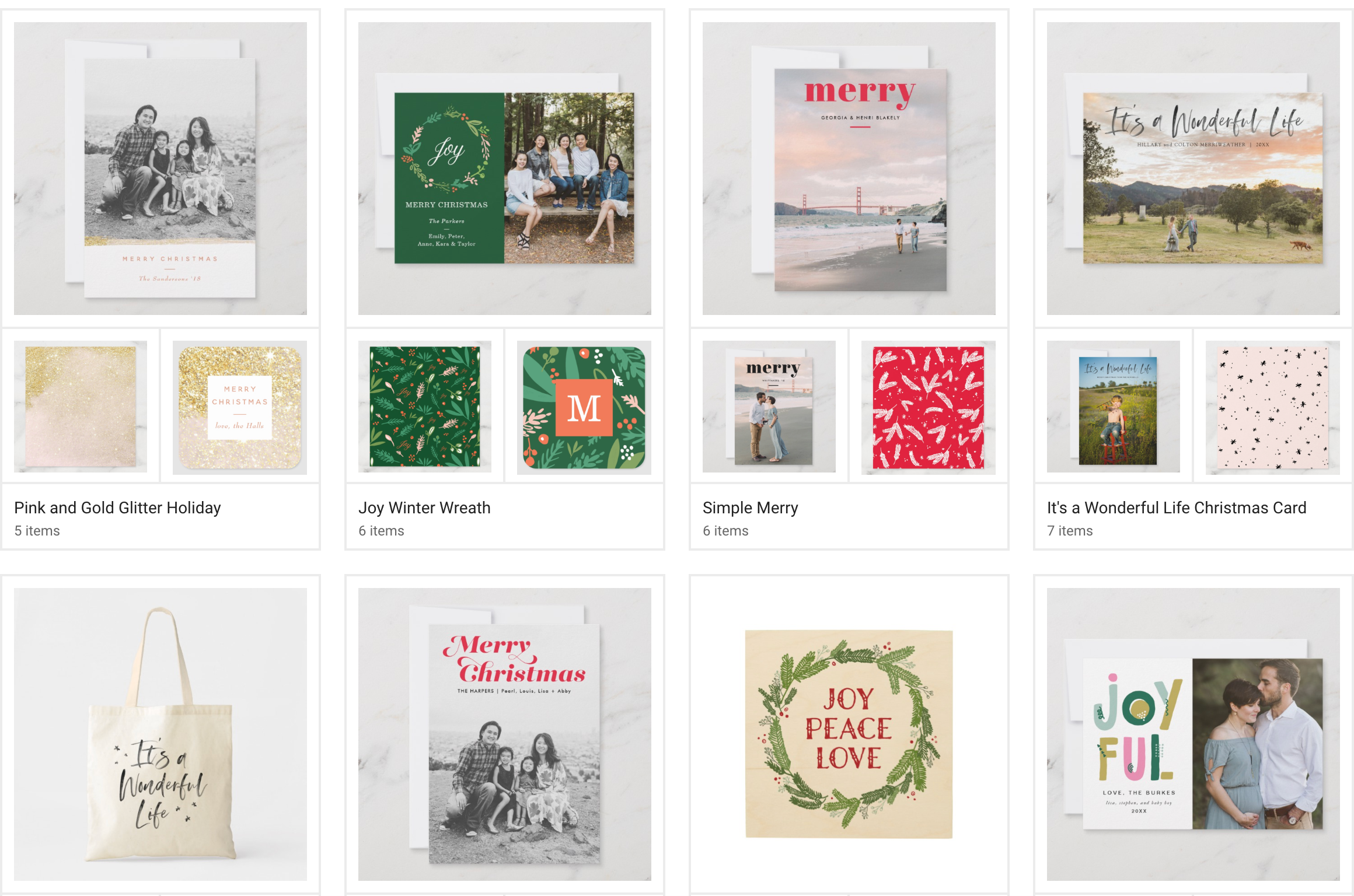 Erika Firm for Zazzle Holiday Cards