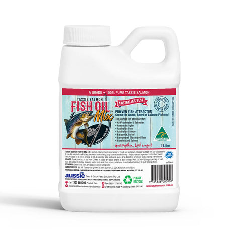 2.5 Litre <br>Tassie Salmon Fish Oil Mix <br>Fishing Attractant