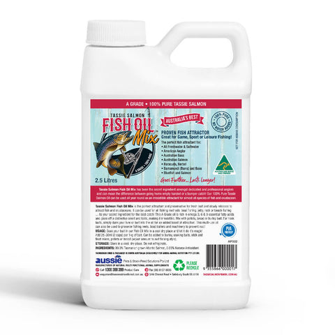 5 Litre <br>Tassie Salmon Fish Oil Mix <br>Fishing Attractant