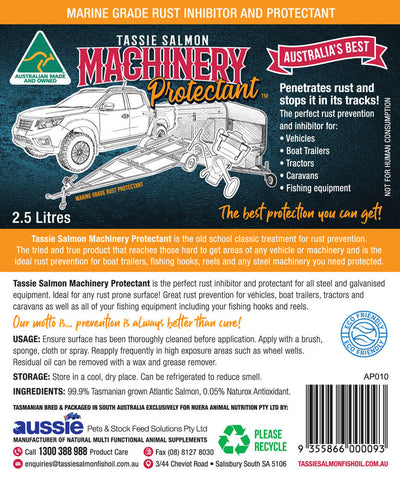 2.5 Litre <br>Tassie Salmon Machinery Protectant <br>Multi-Buy Pack of 6