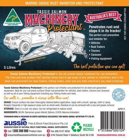 Image of 5 Litre <br>Tassie Salmon Machinery Protectant <br>Multi-Buy Pack of 3