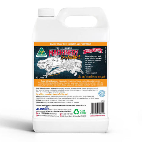 2.5 Litre <br>Tassie Salmon Machinery Protectant <br>Marine Grade Protectant