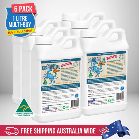 2.5 Litre <br>Tassie Salmon Crabbing Oil Mix <br>Multi-Buy Pack of 6