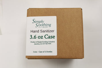 Simply Soothing Hand Sanitizer Case-Please see shipping restrictions below