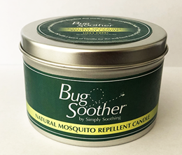 Bug Soother Natural Mosquito Repellent Candle Case (case of 9) (MSRP $14.99)