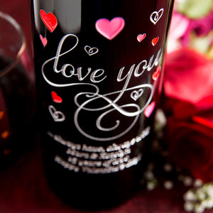 Love You in Hearts Big Bottle