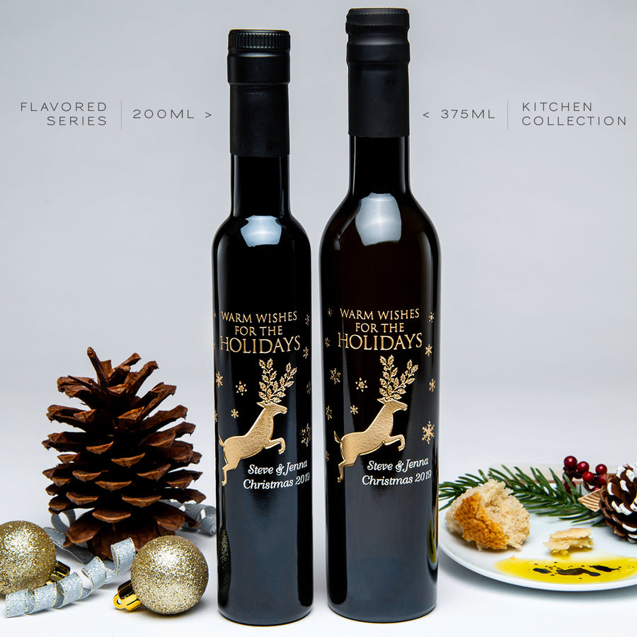 Reindeer & Snowflakes Oil or Vinegar