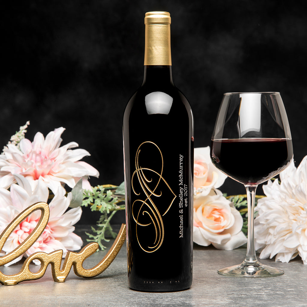Classic Infinity Etched Wine