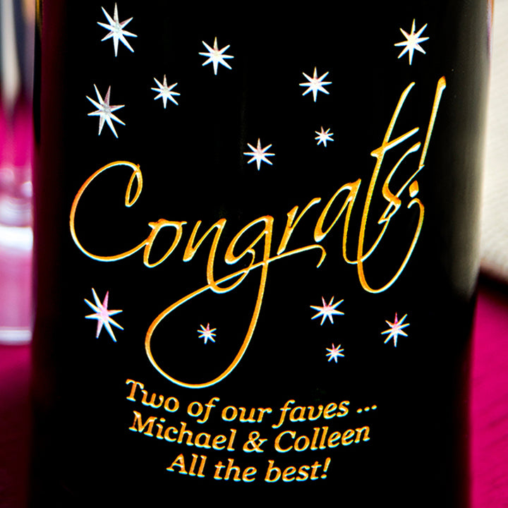 Congrats in the Stars Big Bottle