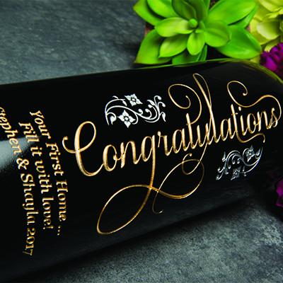 Joyful Congratulations Big Bottle