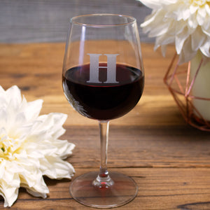 Monogram Wine Tasting Glass