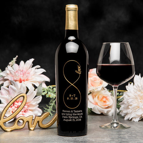 Original Infinity Etched Wine