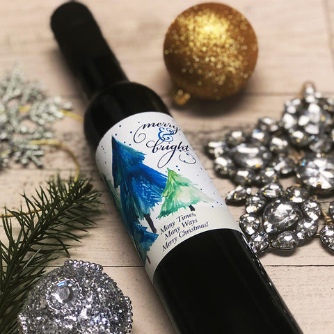 Merry & Bright! - Personalized Olive Oil