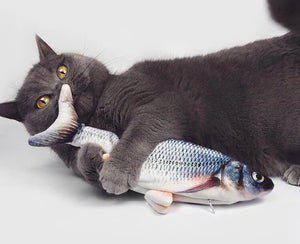 Floppy Fish Toy for Cats
