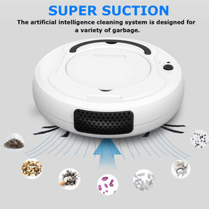3-in-1 Smart Cleaning Robot (Wireless/Automatic)