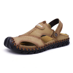 Summer Genuine Leather Sandals
